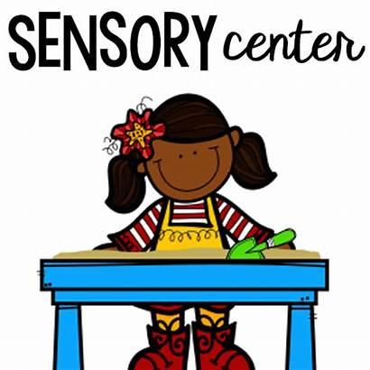 Sensory Clipart Centers Centre Preschool Activities Pre