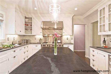 jet mist honed black granite contemporary kitchen
