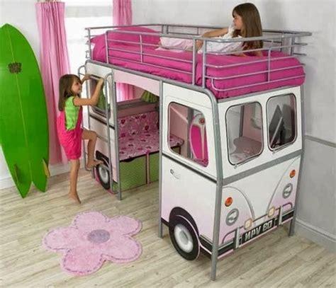 deco chambre fille 8 ans un lit mezzanine pour enfant des idées en photos