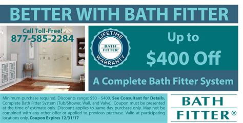 Bath Fitter Coupons And Discounts