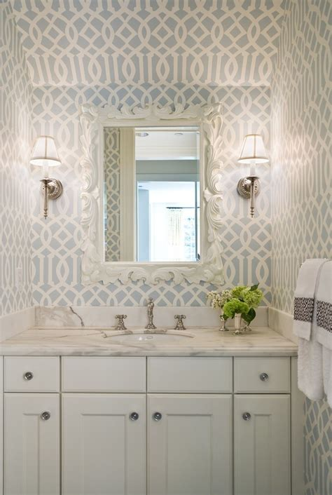 seattle gorgeous   powder room traditional