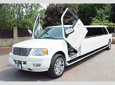 limo hire Ford Excursion 4x4 limousine hire
