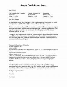 sample letters credit repair credit repair secrets exposed With credit repair letters