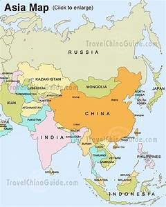 Asia Map - Map Pictures