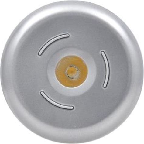 sylvania led 3 button silver light puck led