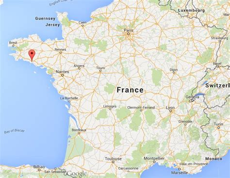 Where is Lorient on map France | World Easy Guides
