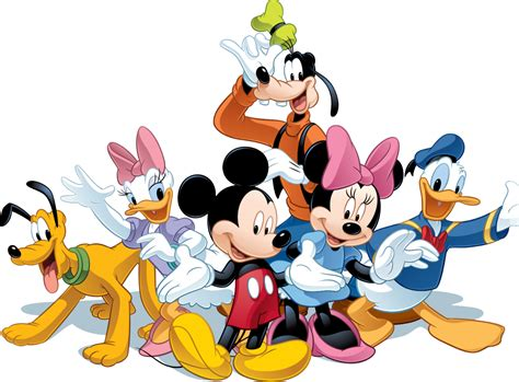 Minnie, donald, goofy, and more! Matched Content: | Mickey mouse png, Walt disney ...