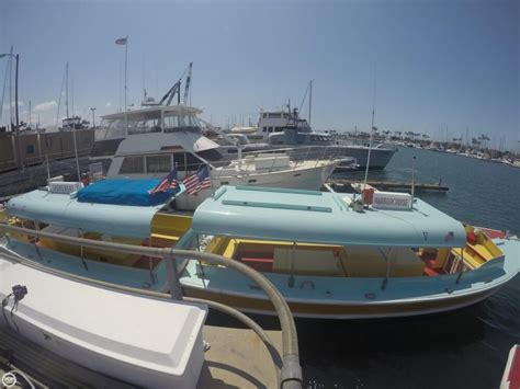 Passenger Boats For Sale California by 1975 Used Seaway Boats Company Custom 28 Water Taxi