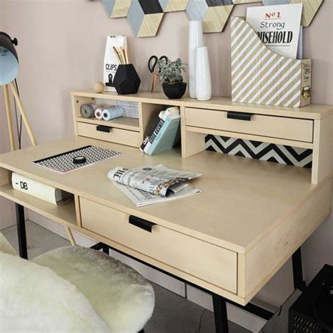 bureau  tiroirs chambre ado fille pinterest bureau