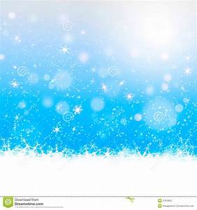 Christmas Card Design In Blue Background Stock ...