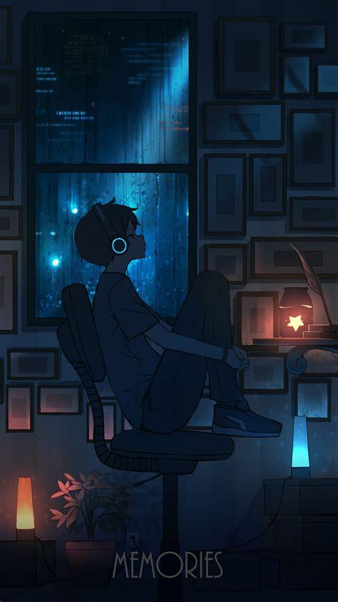 anime wallpaper aesthetic boy