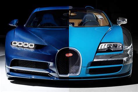 Vs Bugatti by Bugatti Veyron Vs Bugatti Chiron De Verschillen Topgear