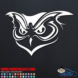 Awesome Owl Vinyl Car Window Decal Sticker Animal Decals