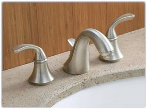 kohler k 10272 4 bn forte widespread lavatory faucet with