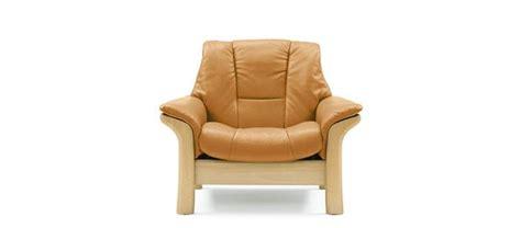canape stressless stressless buckingham lowback modern recliner leather sofa