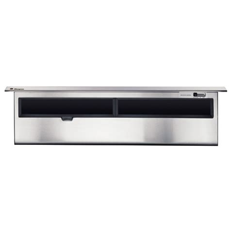 ge monogram  stainless steel telescopic downdraft vent hood zvbsbss ge appliances