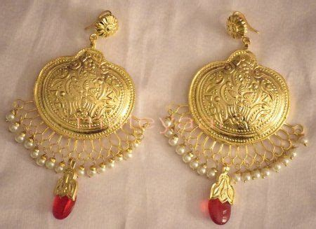 hand  gold plated traditional punjabi jewellery