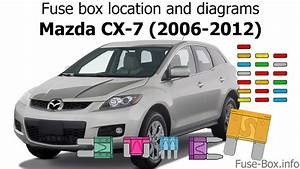 Fuse Box Location And Diagrams  Mazda Cx-7  2006-2012