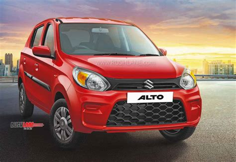 Maruti Alto 800 VXi+ top variant with touchscreen - Launch ...