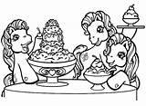 Coloring Pony Cream Pintar Desenhos Colorir Ice Poney Imprimir Whipped Jogos Desenho Animaux Liro Coloriages Pequeno Ponei Meu Bulkcolor Poni sketch template