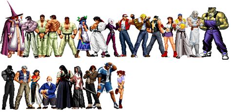 Kof Anthology All Characters