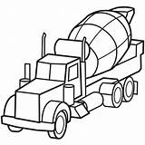 Truck Coloring Fire Police Cars Dump Mewarnai Mobil Molen sketch template