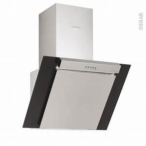 Hotte Aspirante Inclinée : hotte de cuisine aspirante inclin e 90 cm noire silverline ~ Premium-room.com Idées de Décoration