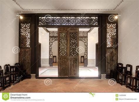 casa cinese interiore della casa cinese fotografia stock immagine di