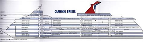 carnival splendor deck plans printable carnival deck plans ship and cabin pictures with