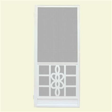 screen door protector home depot unique home designs 36 in x 80 in biscayne white