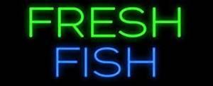 Fresh Fish Neon Sign Made In USA Amazon