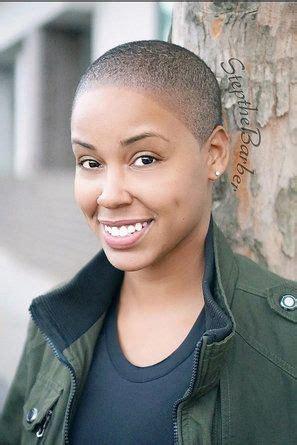 badass black women slaying  shaved hairstyles short