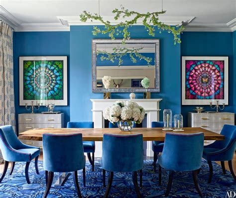 what s hot on pinterest keep calm with these blue dining
