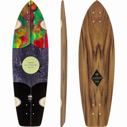Rally Arbor Skateboard Longboard Complete Custom Muirskate