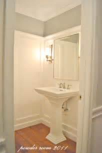 bathroom trim ideas remodelaholic powder room transformed with molding on walls
