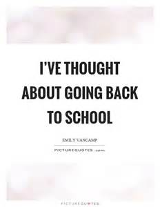 Quotes About Going Back to School