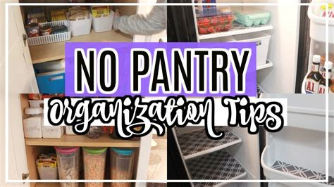 Saves you so much time! REFRIGERATOR ORGANIZATION IDEAS | NO PANTRY KITCHEN ORGANIZATION | CLEAN & ORGANIZE WITH ME ...