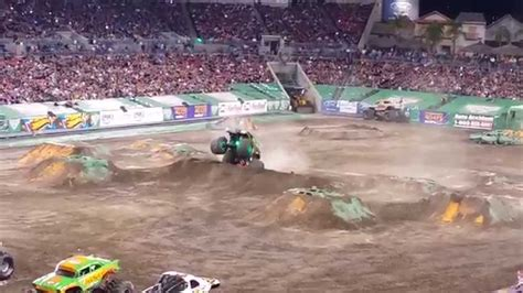 monster jam freestyle  raymond james stadium youtube