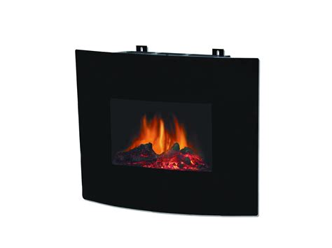 decor flame wall mount fireplace 24 electric appliances