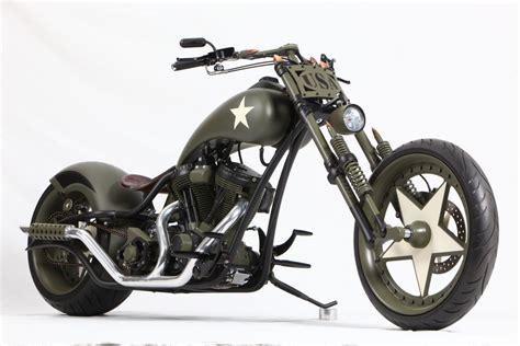Custom Chopper Motorbike Tuning Bike Hot Rod Rods Military
