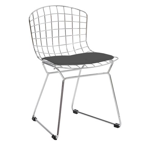 harry bertoia dining chair bertoia side chair design chairs