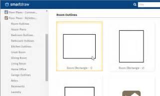 draw  floor plan  smartdraw