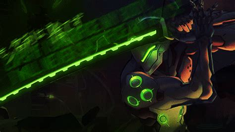 Genji Animated Wallpaper - new overwatch animated quot dragons quot coming this monday