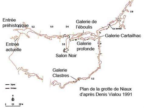 Carte Des Grottes Préhistoriques En by Niaux Grotte Visite Images Hominid 233 S