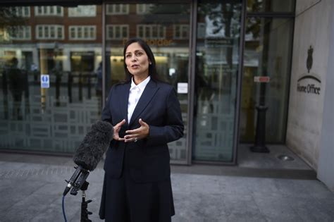 Priti Patel's Ireland food shortage comments condemned by ...