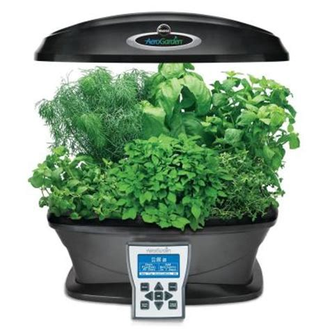 indoor garden depot miracle gro aerogarden ultra indoor garden with gourmet