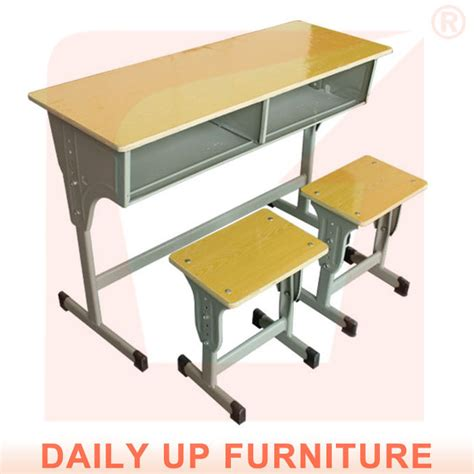 two seater school desk chair classroom bench furniture