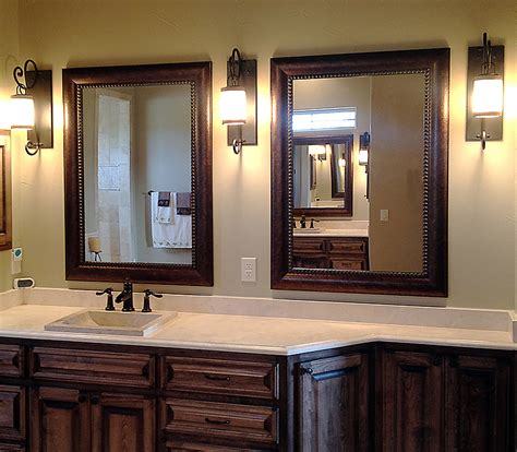 shop framed wall mirrors and framed bathroom mirrors in