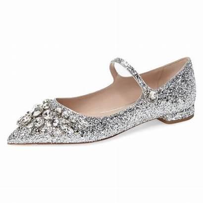 Bridal Heels Fsjshoes Comfortable Toe Rhinestone Glitter