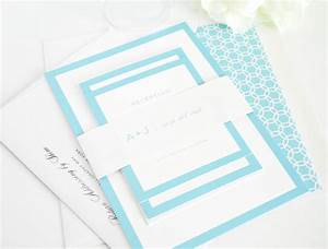 Light blue wedding invitation sample sang maestro for Wedding invitation sample light blue